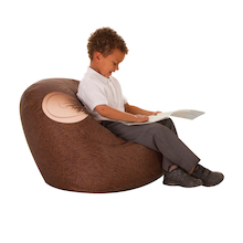Safari Monkey Bean Bag Chair  medium