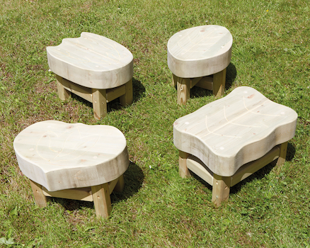 Outdoor Wooden Seating Furniture Range  large