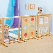 Wooden Activity Screen Room Dividers 3pk  medium