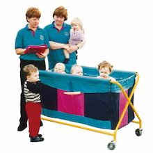 Nursery Evacuation Trolley