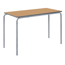 Crush Bent PU Edge Rectangular Tables  medium