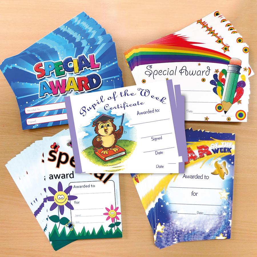 Buy Praise And Reward Certificates 100pk Tts International