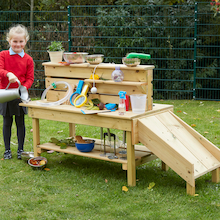 Outdoor Activity STEAM Lab Bench  medium