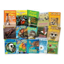 Life Cycles and Food Chain Book Pack KS2 15pk  medium