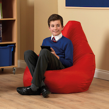 Large Bean Bag Reading Chairs  medium