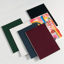 Pisces Laminated Spiral Sketchbooks A3 140gsm  medium
