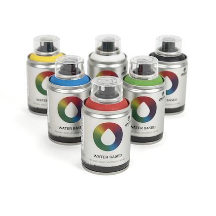 Buy Mtn Water Based Spray Paints 100ml Tts International