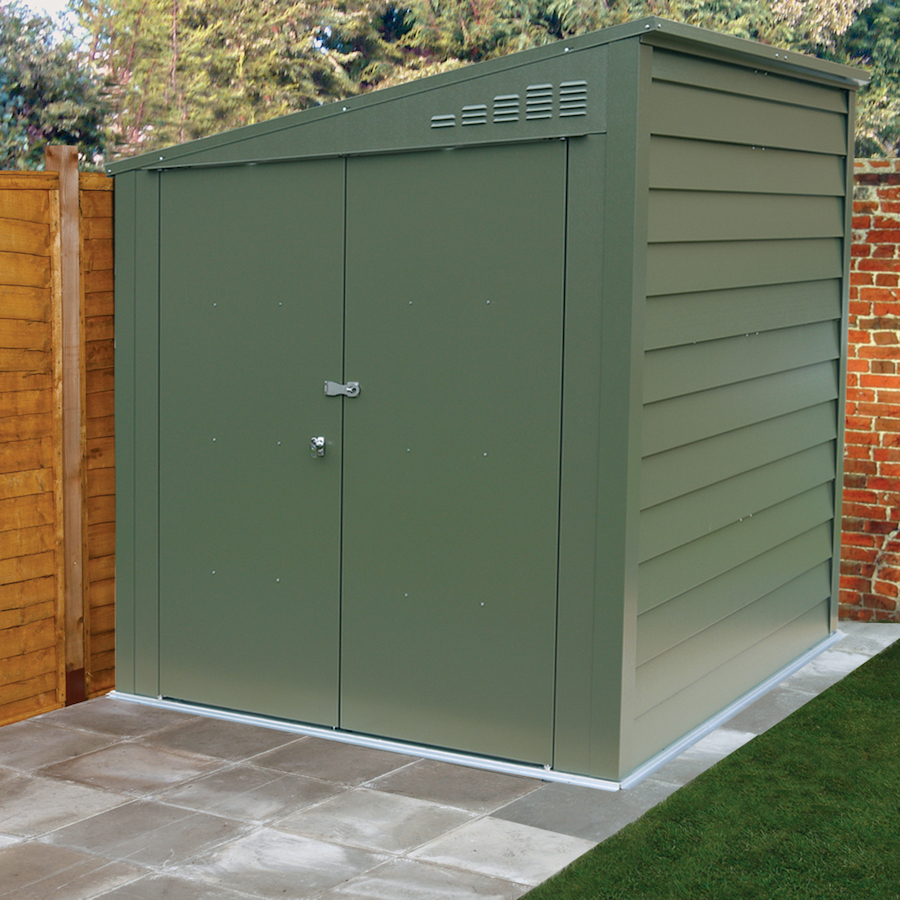 Merveilleux Outdoor Metal Storage Shed