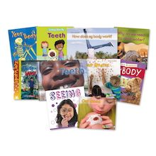 KS1 Human Body Books 10pk  medium