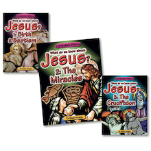 The Life and Crucifixion of Jesus Books 3pk  medium