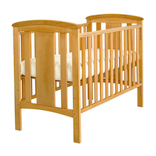 Katie Wooden Cot with Mattress  medium