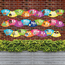 Curvy Alphabet Signs 26pk  medium