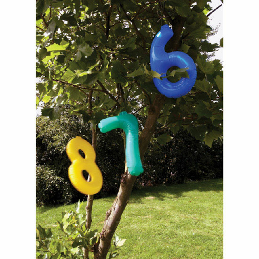 Giant Inflatable 0 9 Numbers 36cm Large Tts School Resources Online