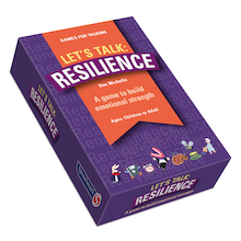Let's Talk Resilience Discussion Cards  medium