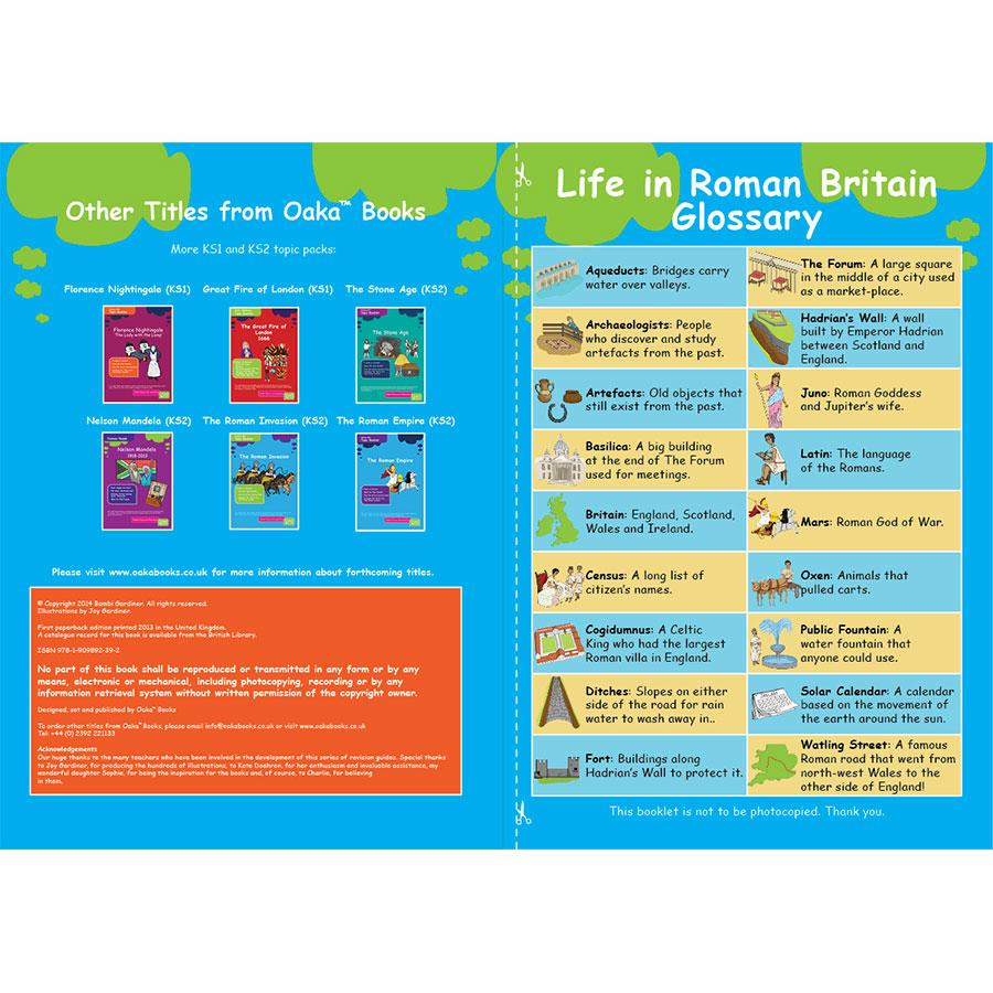 Buy KS3 Roman Britain Revision Activity Cards 10pk | TTS