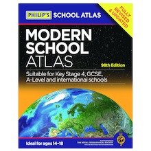 Philip's Modern School Atlas  medium