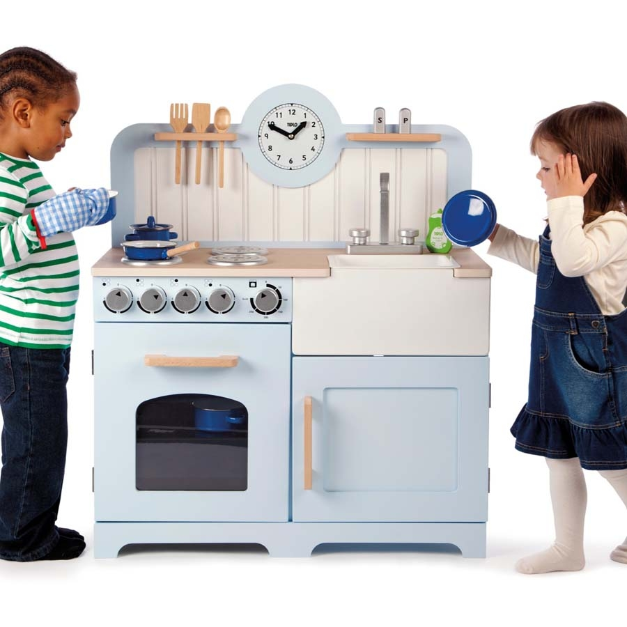 Role Play Wooden Country Kitchen Small