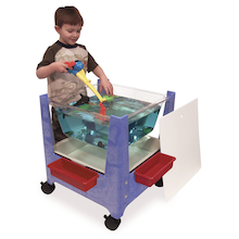 Sand and Water Clear Activity Tray  medium