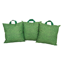 Lightweight Grass Print Cushions 3pk  medium