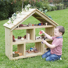 Outdoor Wooden Dolls House  medium