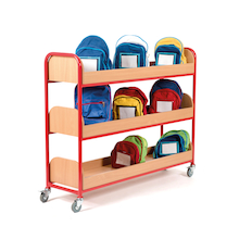 Lunch Box Trolley for 30 Lunch Boxes  medium