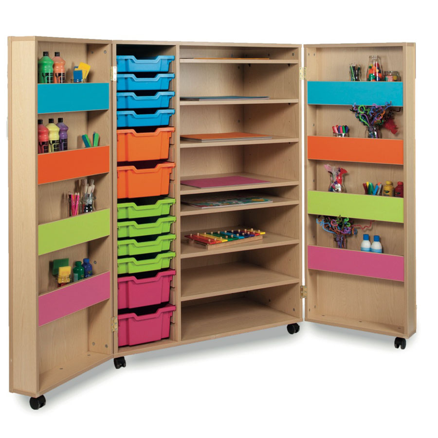 Bubblegum Range Art Storage Cupboard Large Tts School Resources Online