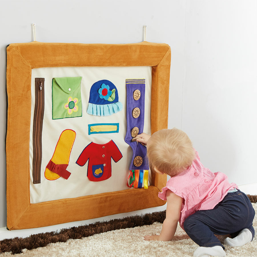 Buy Soft Activity Frame with Textures and Fastenings   TTS International