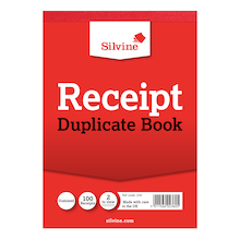 Duplicate Receipt Book  medium