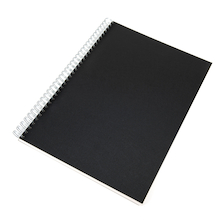 Pisces Hardback Spiral Sketchbook A4 140gsm  medium