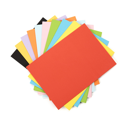 Assorted Coloured Paper 100gsm 250pk