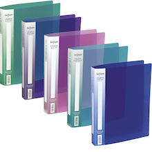 Assorted A4 Snopake Ring Binder Folders  medium