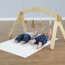 Wooden Baby Sensory Rail  medium