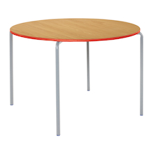 Crush Bent PU Edge Circular Tables  medium