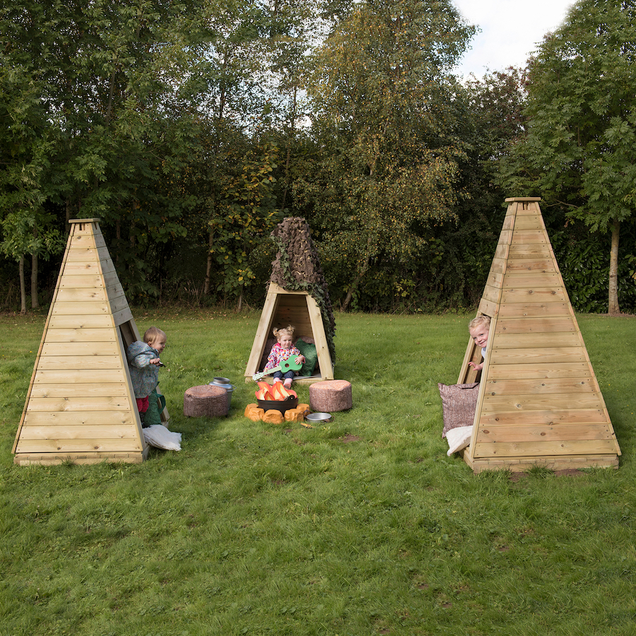 ... Outdoor Wooden Teepee Small ...