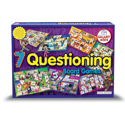 Questioning Skills Board Games A3 7pk  large
