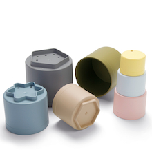 Bio Plastic Stacking Cups  medium