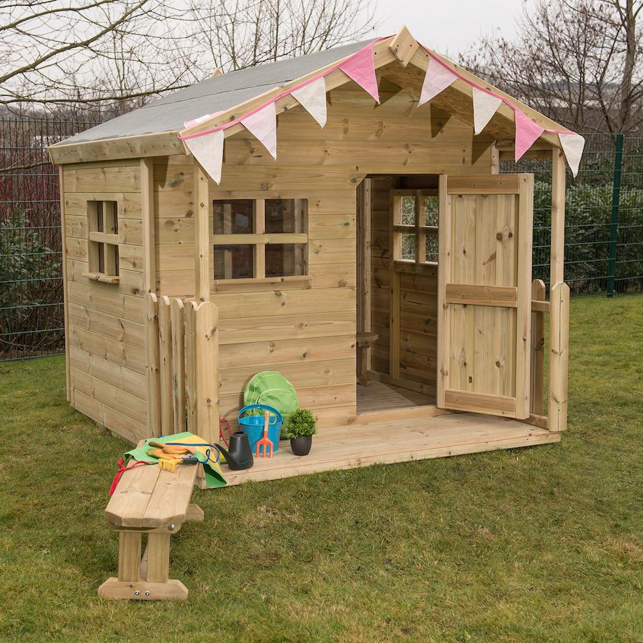 Buy Childrens Outdoor Playhouse Tts International
