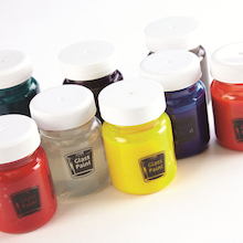 Glass Paints Assorted 50ml 8pk  medium