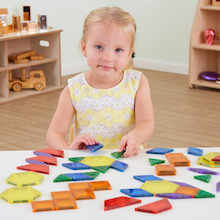 Magnetic Pattern Block Builders  medium