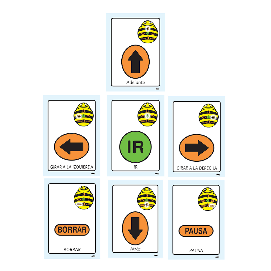 Buy A5 Bee-Bot® Sequence Cards | TTS International