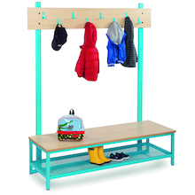 Bubblegum Cloakroom Benches  medium