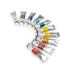 Daler Rowney Georgian Water Mixable Oil Paints 10X 20ML  medium