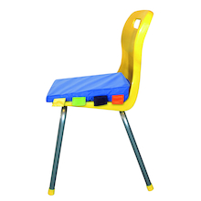 Sensory Touch Tags Chair Posture Wedge  medium