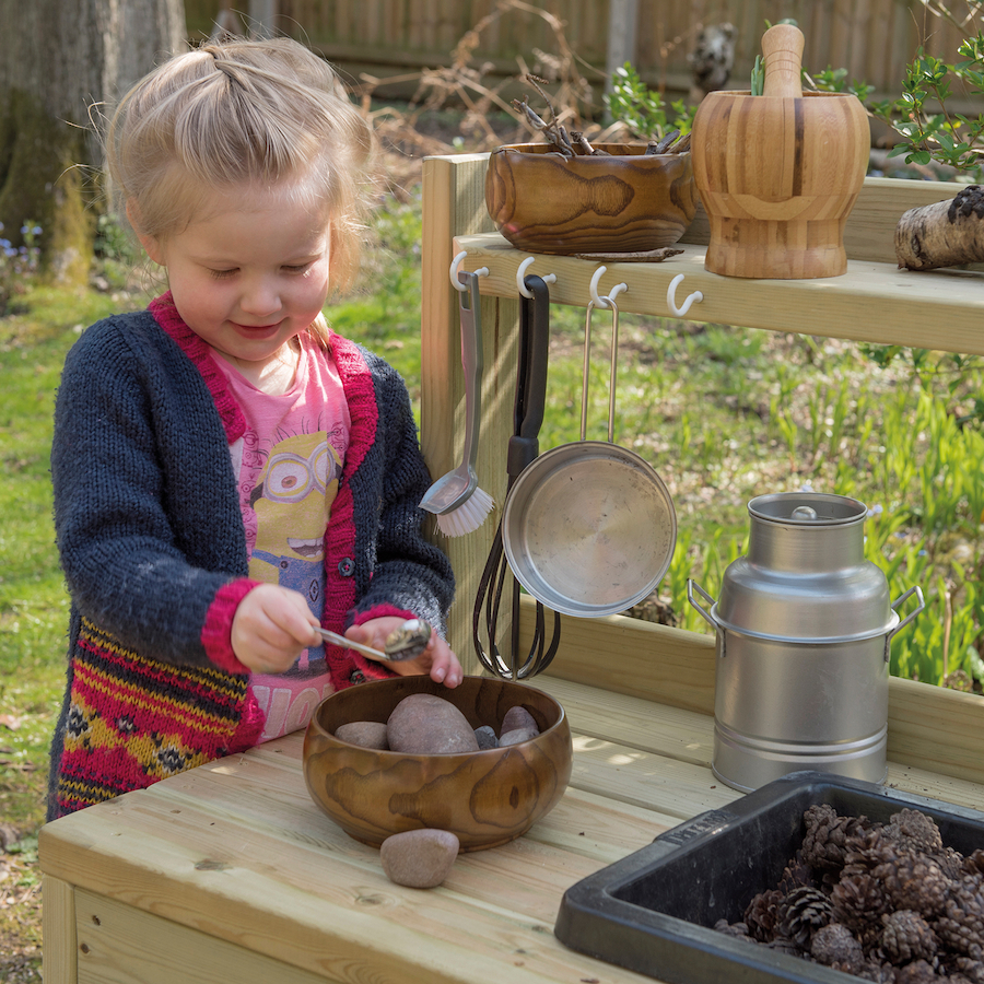 Messy Office Kitchen: Buy Outdoor Messy Play Wooden Mud Kitchen