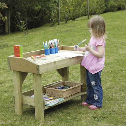 Swell Buy Outdoor Wooden Work Bench Tts International Short Links Chair Design For Home Short Linksinfo