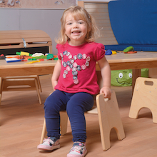 Toddler Wooden Chair  medium