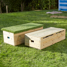 Outdoor Storage Bench  medium