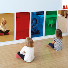 Rainbow Wall Mirrors 80 x 40cm  medium