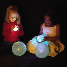 Light Up Glow Balls 4pk  medium