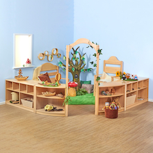 Rampton Early Years Natural Wooden Furniture Set  medium